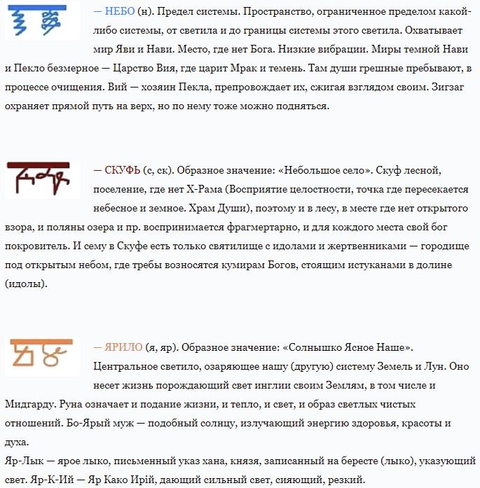 Арийские рунические символы и их значение, структура каруна