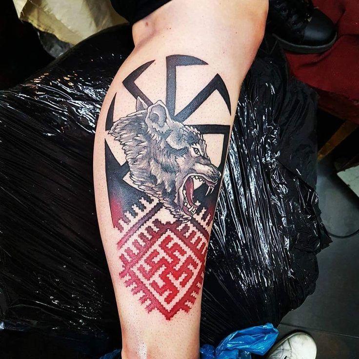 Славянские рунические татуировки - примеры с фото, их значение и советы по выбору